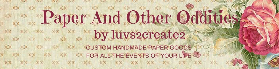 Paper And Other Oddities by luvs2create2 Banner