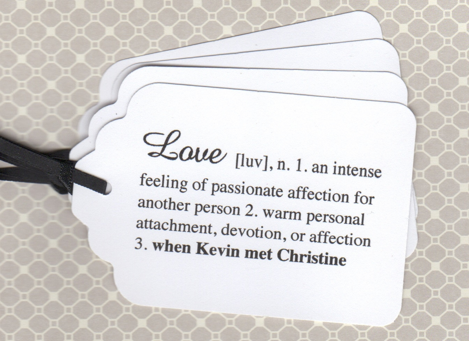 100 Elegant Personalized Wedding Tags / Escort Cards / Wedding Wish ...
