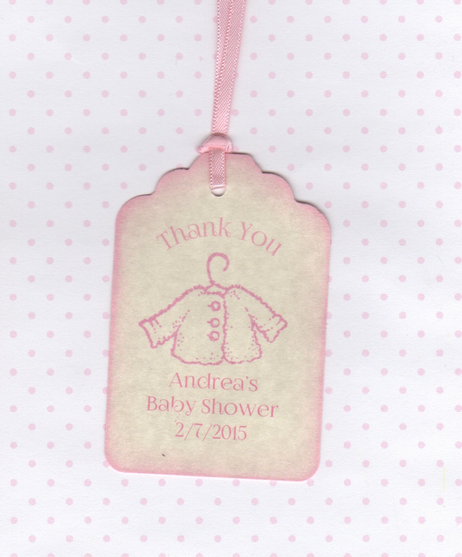 20 Baby Thank You Tags Baby Shower Tags Baby Girl Tags Baby